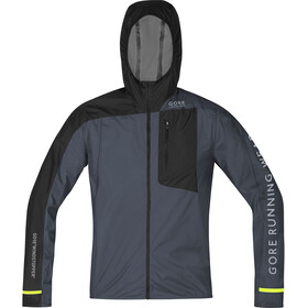 GORE RUNNING WEAR Fusion WS AS Jacket Men graphite grey/black